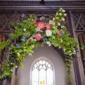 Church screen decoration