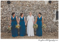 Lorna and Bridesmaids